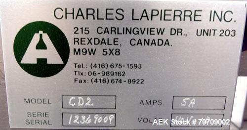 Used- Stainless Steel Charles Lapierre Capsule Polisher, Model CD2