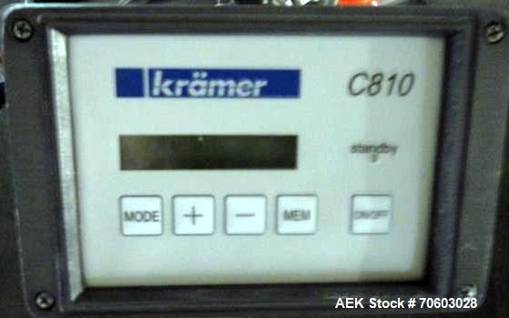 Used- Kramer Model E80 Deduster