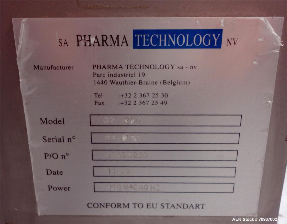 Used- Pharma Technology Model DV 250 Tablet DeDuster