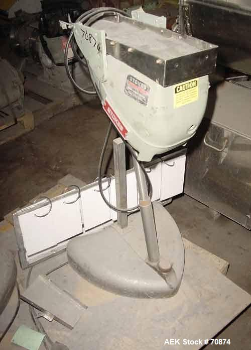 Used- Stainless Steel Stokes Tablet Duster, Model 900-570-1
