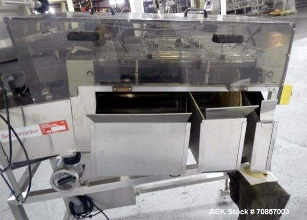 Used- Stainless Steel Seidenader Sorter, Model DS-5
