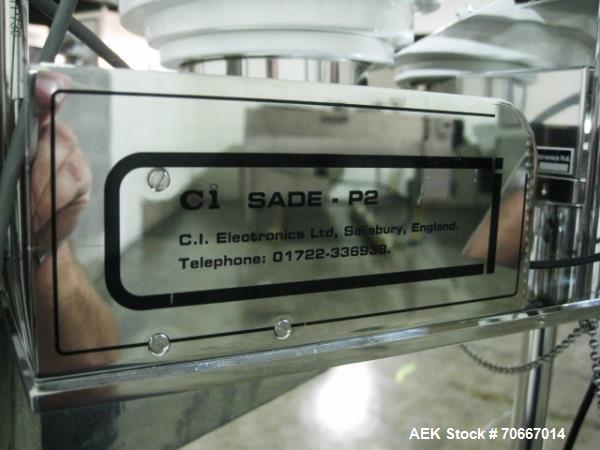 Used- CI Electronics Checkweigher, Model SADE P2