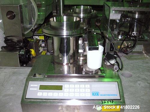 Used- CI Electronics Tablet/Capsule Checkweigher, 115 volt.