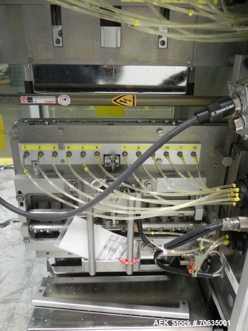 Used- IMA Model Precisa 120 Tablet/Capsule Checkweigher. Machine is rated at up to 120,000 capsules per hour. Capsule size r...