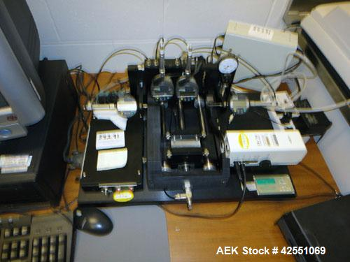 Used- IPR Tablet Press Tooling Insepction Unit, Type TIAS, Model APF-0602. With computer. Built 2002.