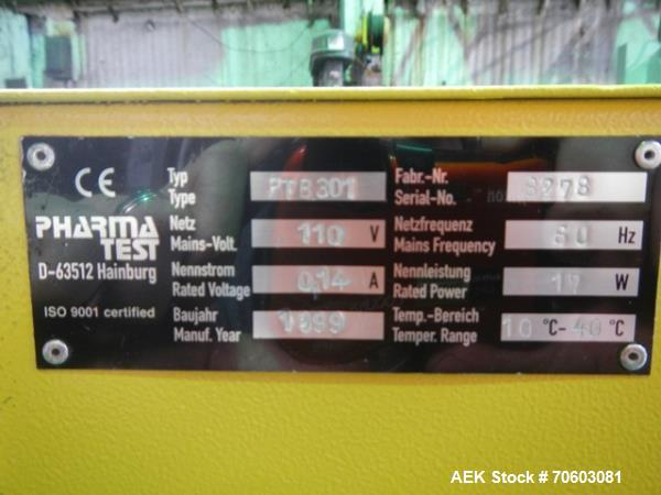 Used- Key International Hardness Tester, Model HT500,