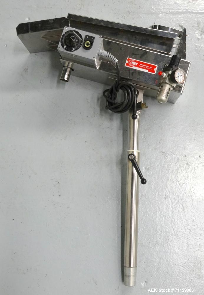 Used- Key International Model TD-101 Tablet De-Duster