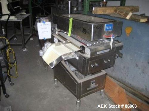 Used- Maschinpex Sortomat Tablet Sorter, Model 3D