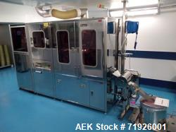 Used- Ikegami Tsushiki Co. LTD Tablet Inspection System/Line, Model TIE-1010. Rated to speeds of 110000 tablets/hr . Current...