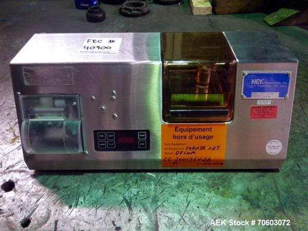 Used- Pharma Test hardness tester, model PTB302, serial# 11314