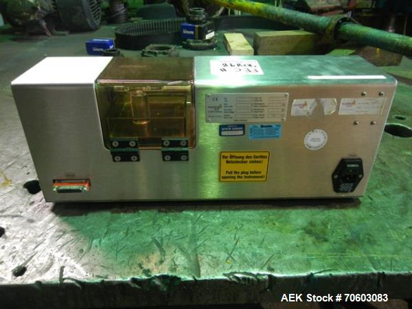 Used- Pharma Test Hardness Tester, Model PTB502
