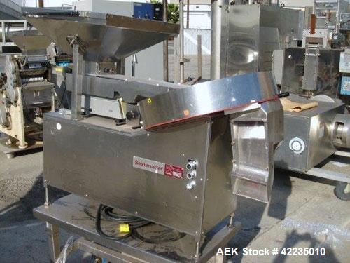 Used- Stainless Steel Seidenader Tablet Sorter, Model L 650