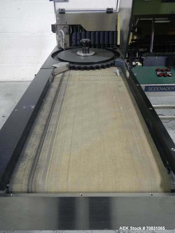Used- Seidenader inspection unit, model V90-AVSB/60-LR