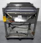 Used- Ackely Tablet Sorter, Stainless Steel Construciton. Gravity feed with 14