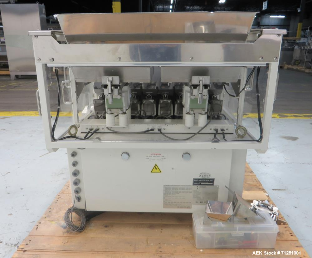 Used- Ishida Model CCW-Z-108P-S/01-PB Inline Combination Scale