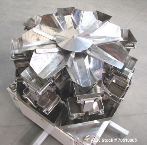 Used-Ishida Eight Head Combination Scale System, Model CCW-Z-208P-S/05-PB