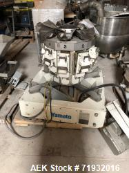 Used-Yamato model ADW-410MD Combination radial net weigh scale. Capable of speeds up to 140 weighs per minute (depending on ...