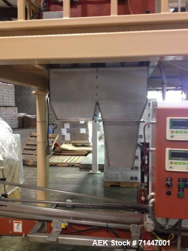 Used- ESP EXpress Scale Parts Bag-In-Box Bulk Case Weighing and Filling System. Complete with case indexing system and contr...