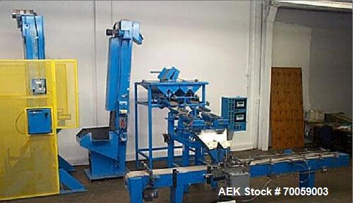 Used-Inspired Automation Linear Scale Case Filling and Packaging Line