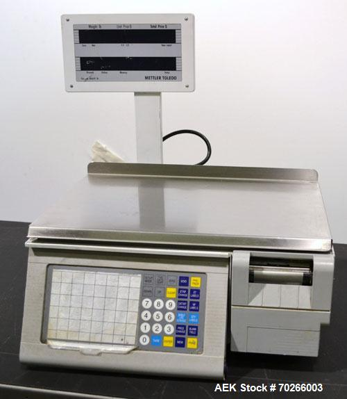 Used- Mettler-Toledo Stand Alone Scale, Model 8450. Maximum capacity 30 pounds, readability 0.01 pounds. 17-3/4'' X 11'' Sta...