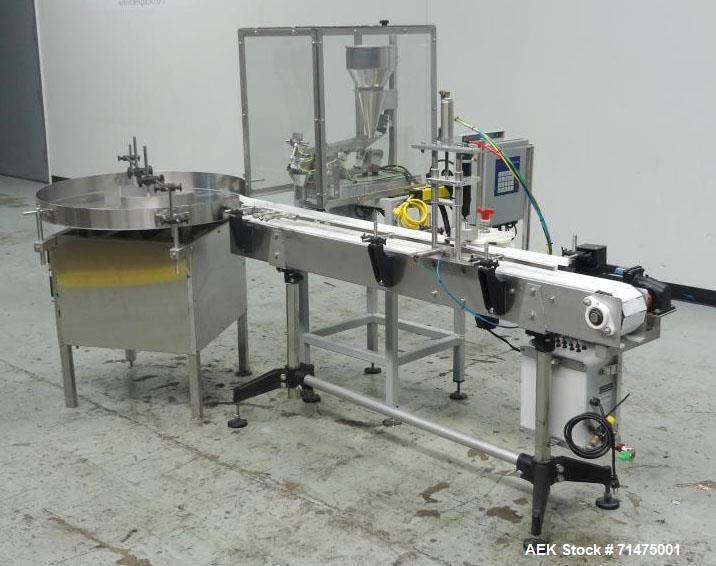 Used- Actionpac Model MICRO109CL/I Linear Scale Container Filler