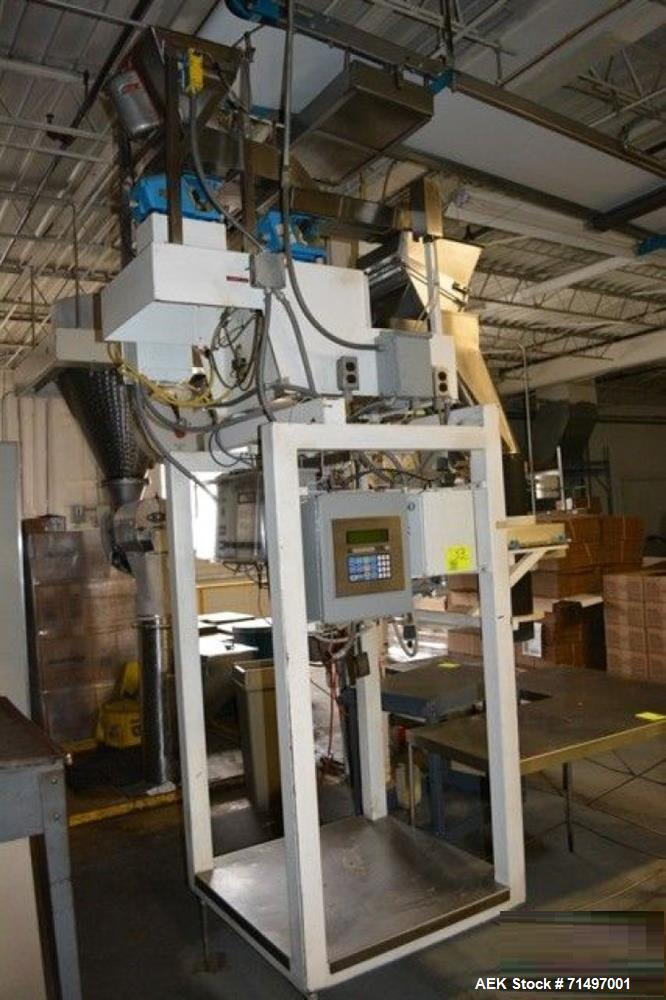 Used-WeighPack Systems Model AEF 7 Linear Bucket Scale. Unit has single with 3-buckets. Each lane has a weigh-cell capacity ...