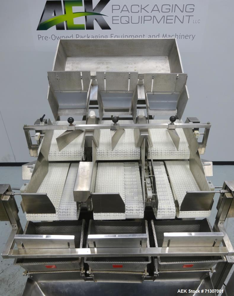 Used- WeighPack Systems Model AEF 7 Linear Bucket Scale