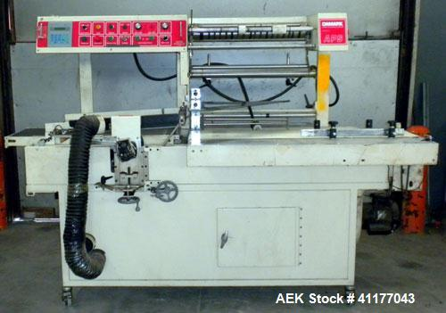 "Used- Damark Automatic L Bar Sealer, Model APS-LP25. Capable of speeds up to 30 packages per minute. Package size range: 17""..."