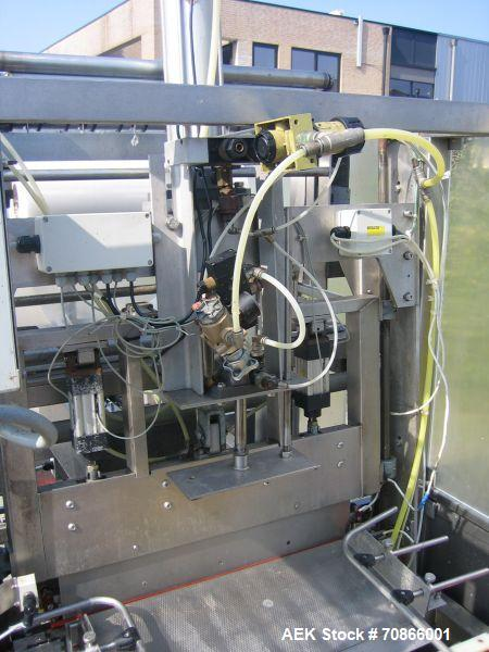 Used-EDL 600/300 Stainless Steel Shrink Wrapper