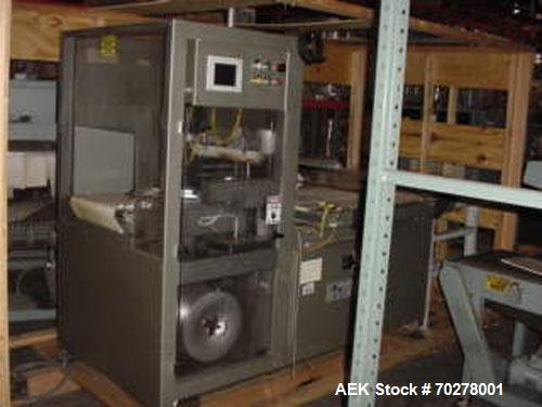 Used- Great Lakes (Arpac) TSI-26 shrink wrapper. Automatic intermittent motion side seal wrappers are the most flexible comp...