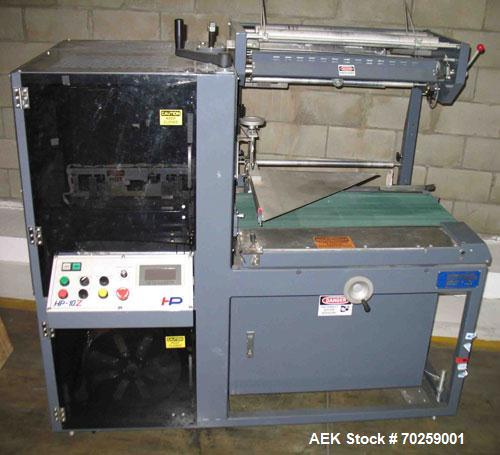 Used-Hanagata HP10Z Automatic L-Bar Sealer capable of speeds up to 40 packages per minute. Intermittent motion system has a ...