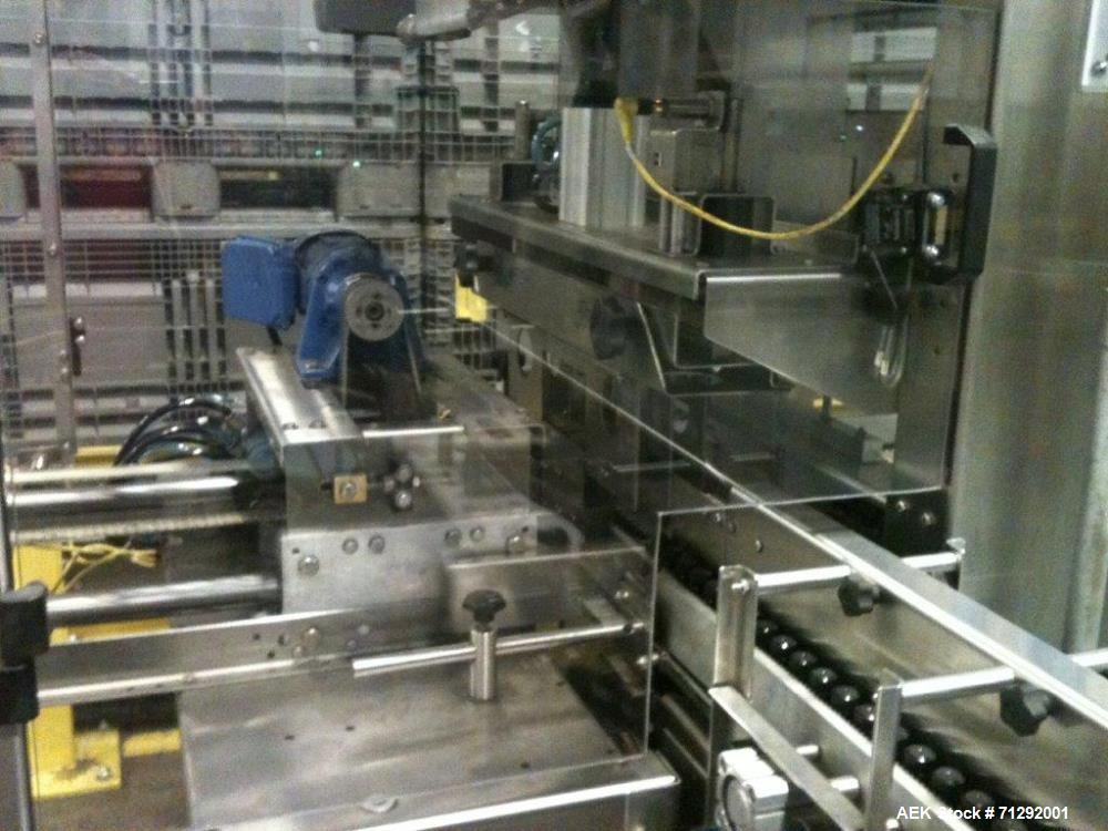 "Used- Polypack Model PH24D Shrink Wrap Bundler. Capable of speeds up to 30 bundles per minute. Machine has a 24""W seal bar, ..."