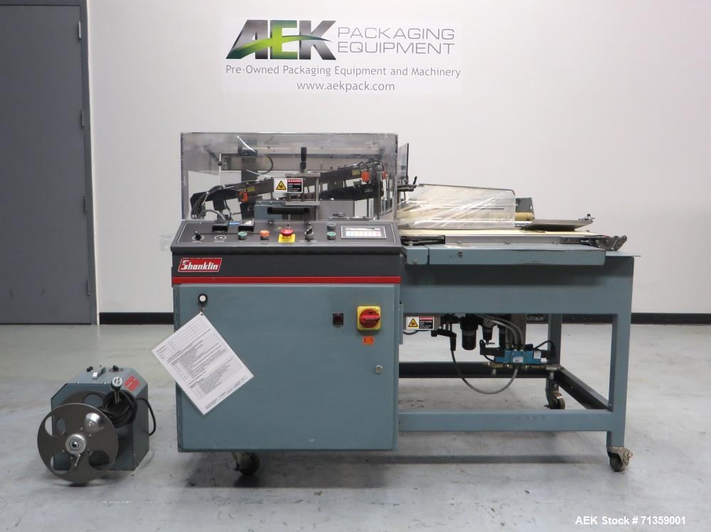 Used- Shanklin Model A26A Automatic L Bar Sealer