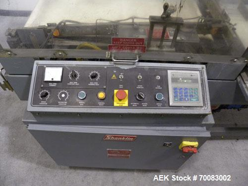 Used- Shanklin Automatic L Bar Sealer, Model A27A