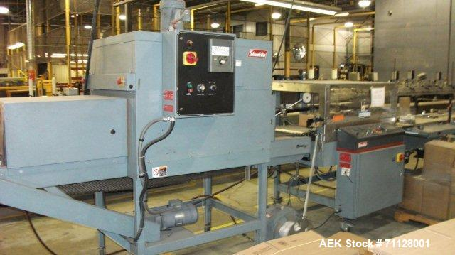 Used- Shanklin Fully Automatic Shrink Wrapping Machine