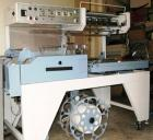 Used-Conflex Automatic L Bar Sealer and Shrink Wrapper, model E-250AC. Capable of speeds up to 35 ppm. Seal bar is 10