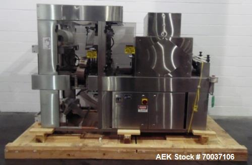 Used- API Stainless Steel Pharmaceutical Shrink Bundler, Model Duratech 2000 S-PH. Integrated heat tunnel. Capable of up to ...
