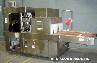 Used- API Duratech Box Wrapper, Model DT3200DLSPH