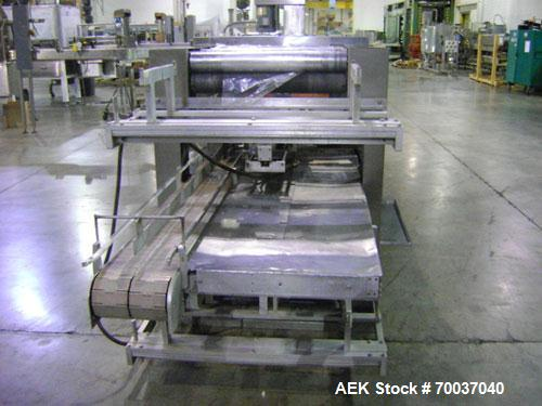 Used-Arpac Shrink Bundler for cartons or trays, model 1058-24, 3/60/460, 30 amps. All stainless steel construction, last use...
