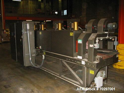 Used-Used: Arpac BPMP-60 shrink bundler with registration. Brandpac BPMP-60 high-speed continuous motion multi-pack wrapper ...