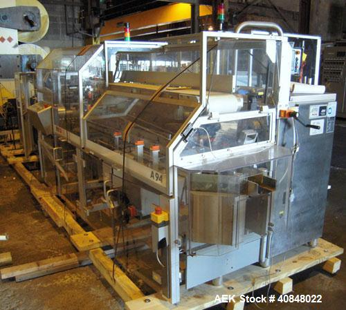 Used- IMA BFB MS500 Shrink Bundler Or Stretch Bander, The Model MS500S is capable of speeds up to 30 bundles per minute. Fin...