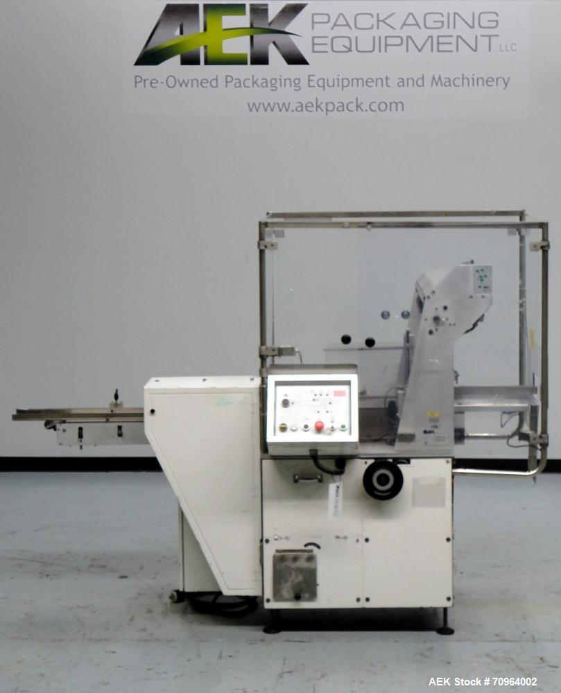 Used Cam ASB-38 Automatic Shrink Bundler or Stretch Bander for carton multi-packing