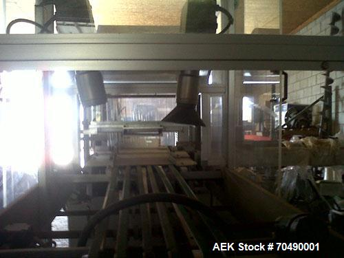 Used- CAM Packaging Systems (CAMPAK) Automatic Bundler, Model ASB 38.26.  Rated 360-1800 bundles/hour, with upstacker.  Carb...