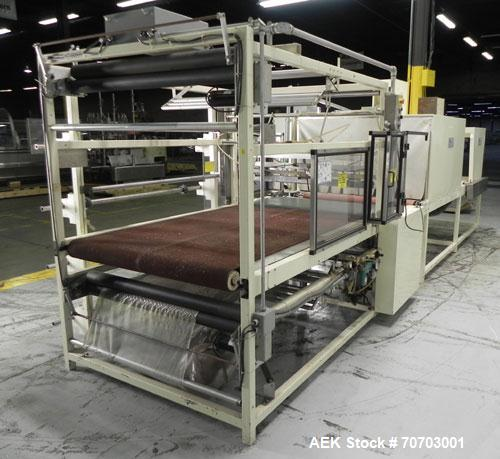 Used- Great Lakes Oversized Inline Shrink Bundler. Model 1748 Shrink Bundler wit