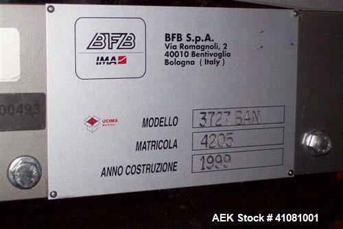 Used- IMA BFB Shrink Bundler And Shrink Tunnel, Model 3727 BAN