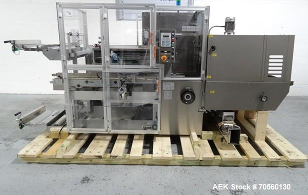 Used- IMA BFB Model MS500BPBR Bundler. Machine is capable of speeds up to 30 bundles per minute. Has a package size range of...