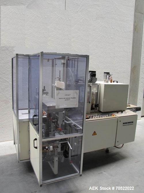 "Used-Kiener ASK 300 Stretch Banding Machine for PE, PP, PVC.  Feeding length 14.1"" (360 mm), feeding width 14.9"" (380 mm), f..."