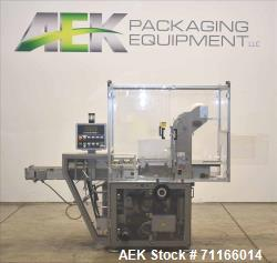Used- Cam Model ASB-38 Automatic Shrink Bundler for Carton Multi-Packing. Equipped with inline infeed with carton upstack co...