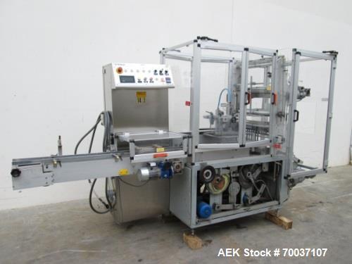 """Used- Multi-Pack Bundler. 144"""" long x 53"""" wide x 85"""" high. Allen-Bradley PLC-5/15 program logic controller. Electrical: 480V..."""