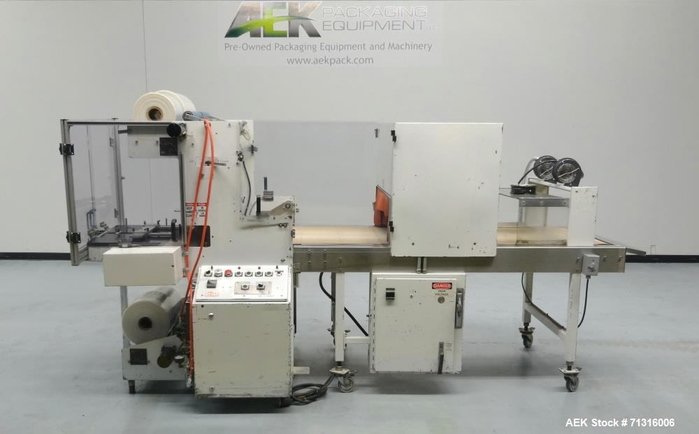 Used- Omega Design Model DL-27 Dual Lane Shrink Bundler